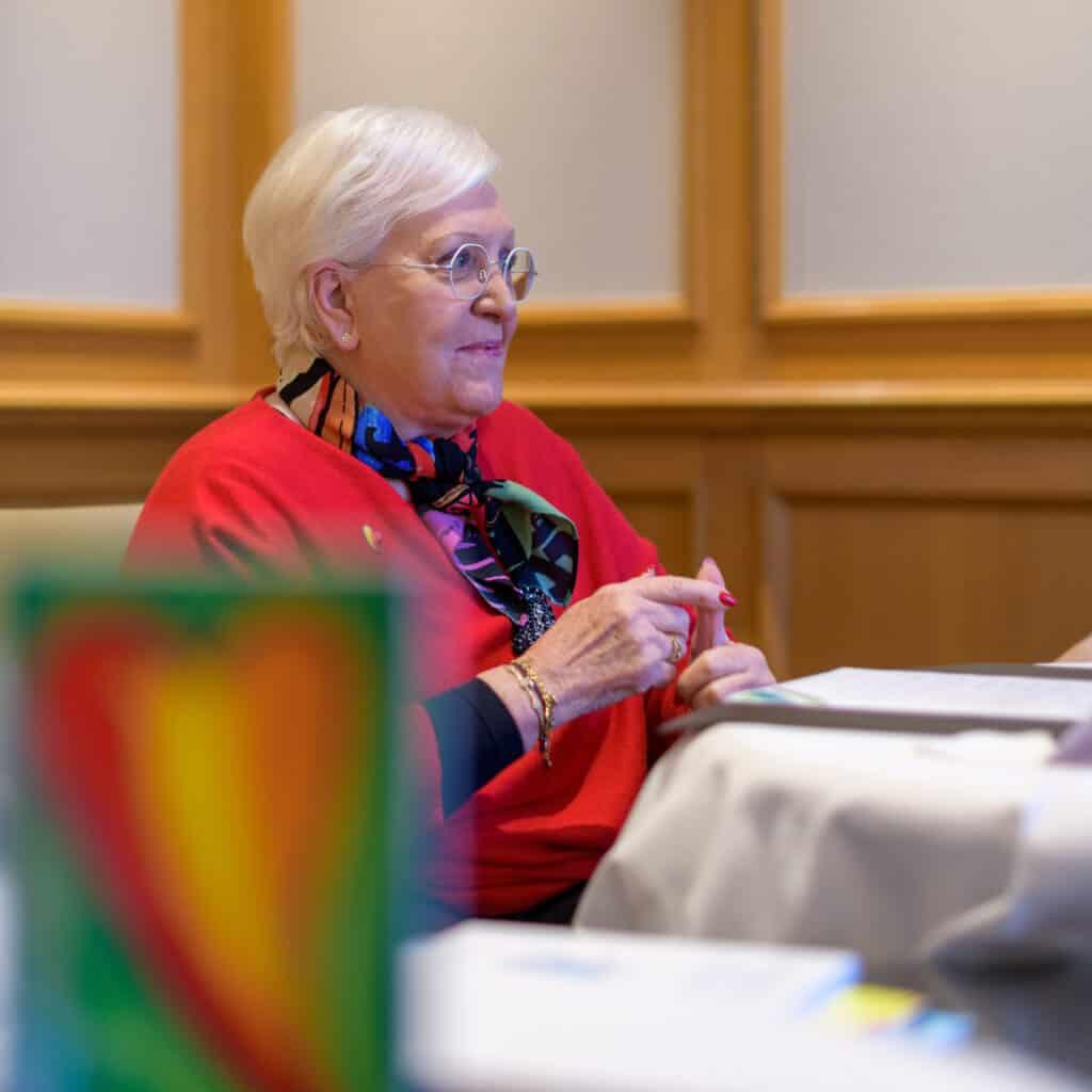 Michèle Boiron ambassadrice des laboratoires Boiron