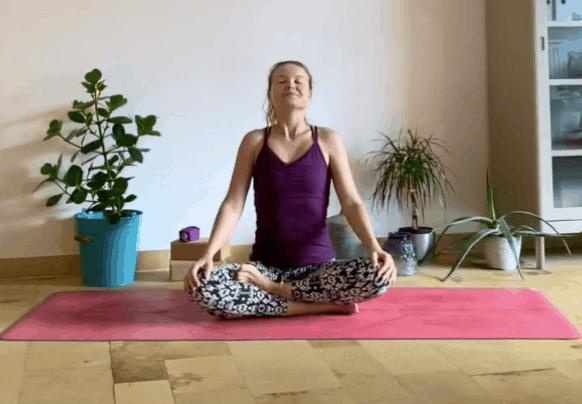 1er cours de YOGA avec Aline Now pour Letz be healthy