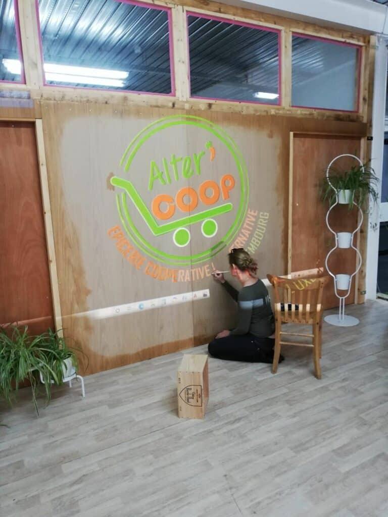 Ouverture prochaine d'une épicerie participative