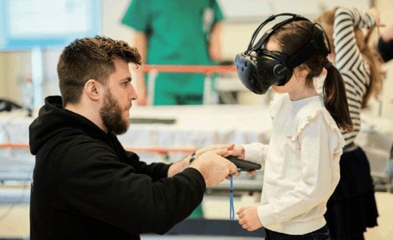 La réalité virtuelle au CHL