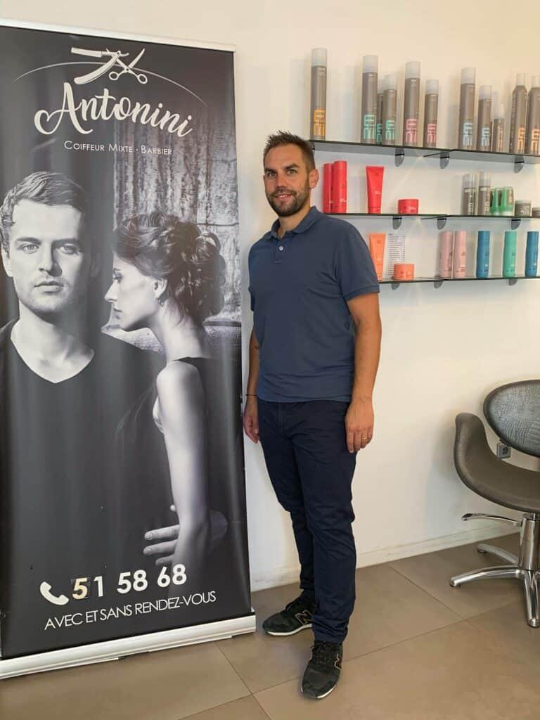 Salon Antonini pour vous servir