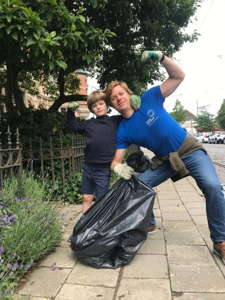 River Cleanup challenge