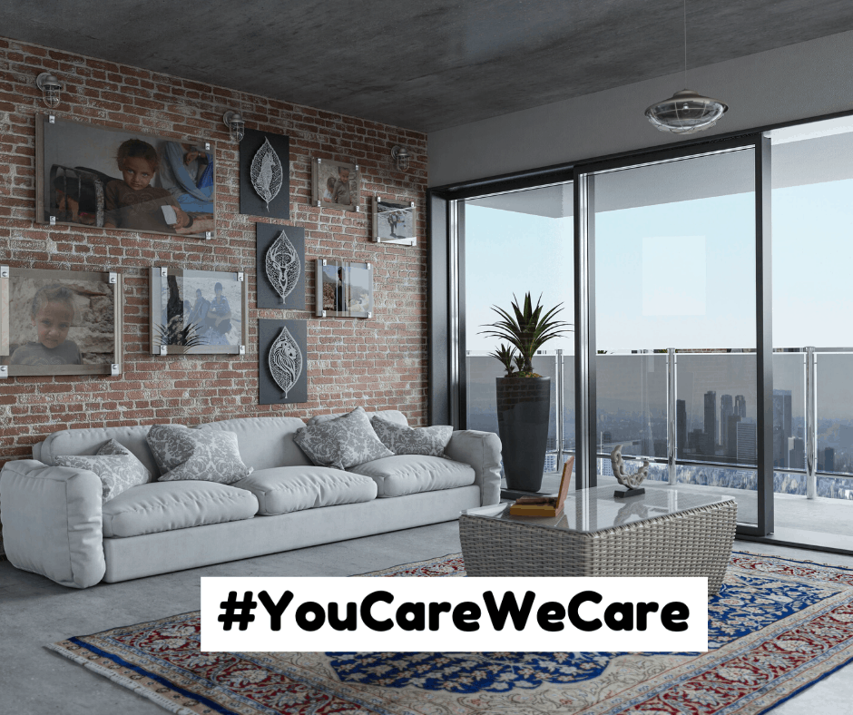 #YouCareWeCare