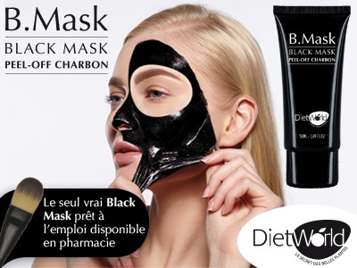 B.Mask Peel-Off Charbon