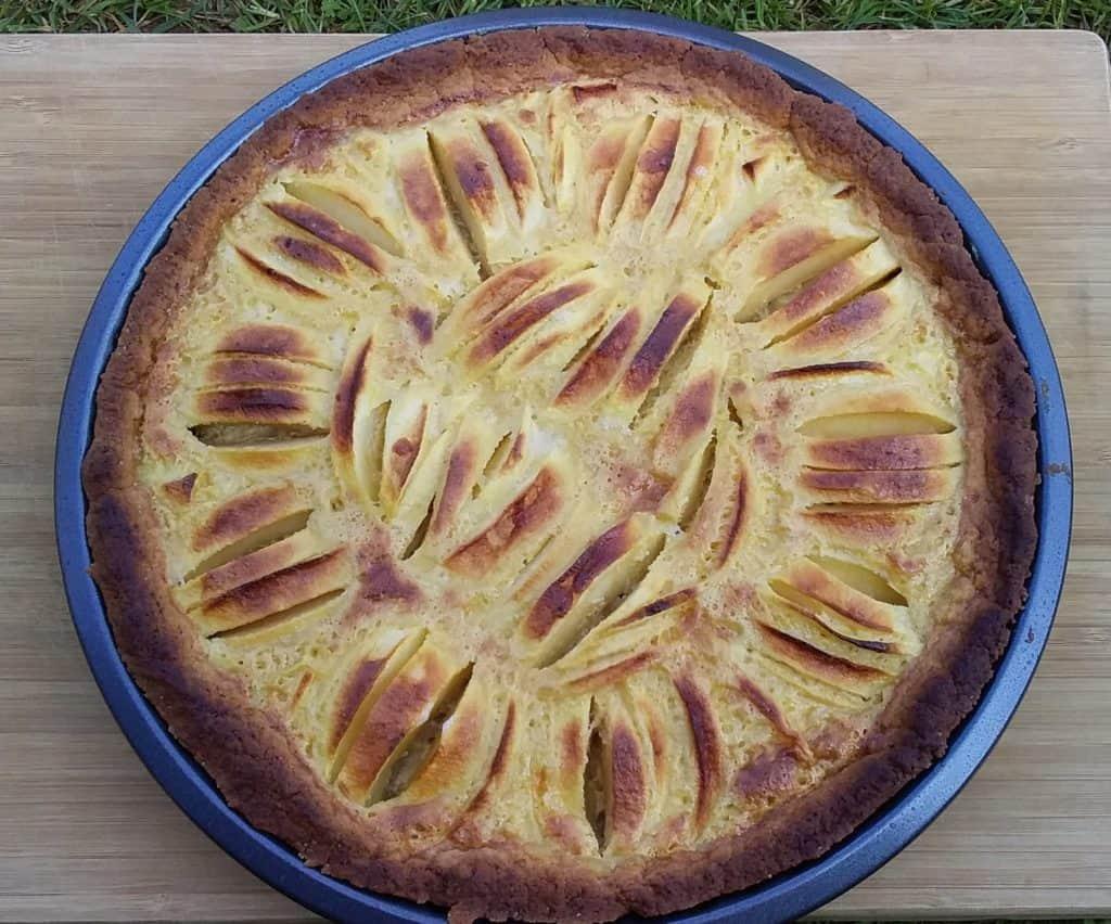 Une tarte au pommes savoureuse et moins calorique !